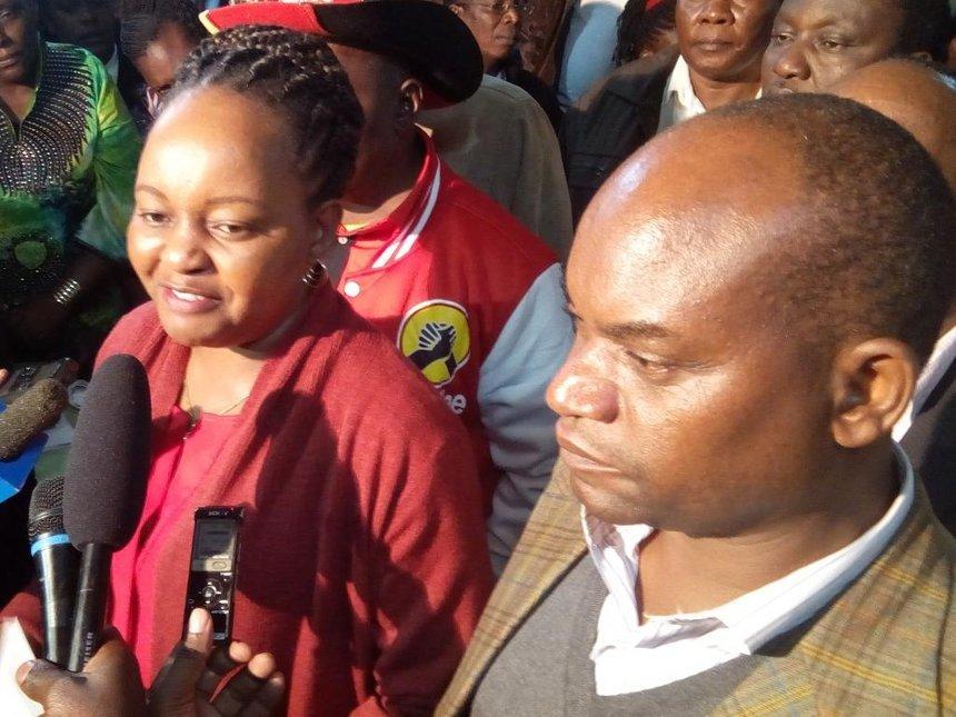 Kirinyaga Deputy Governor's wife speaks after viral video which left Kenyans shocked