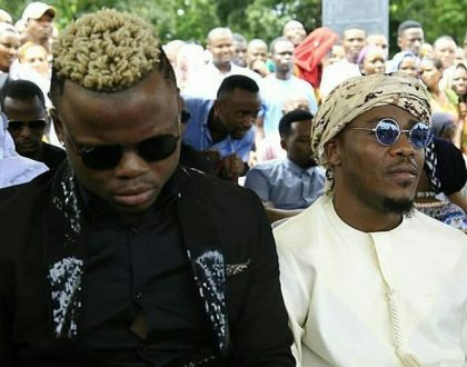 Harmonize angers both Wasafi and King Kiba's fans after pulling this move at Agnes Masogange's funeral!