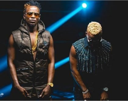 Willy Paul and Harmonize finally deliver their lit anticipated song