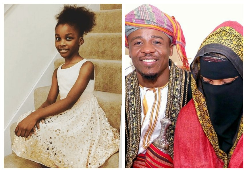 """""""Hope you have a good new life"""" Alikiba's eldest daughter tells her father on his wedding"""