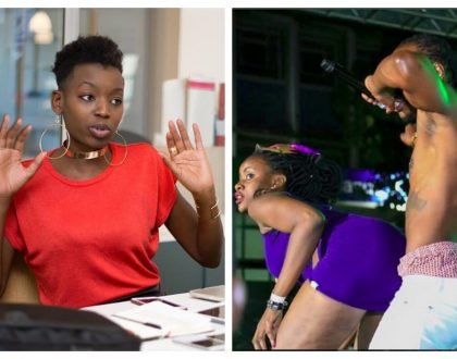 Sauti Sol's former publicist Anyiko lashes out at Timmy Tdat for exposing lady's full butt and panties to the crowd