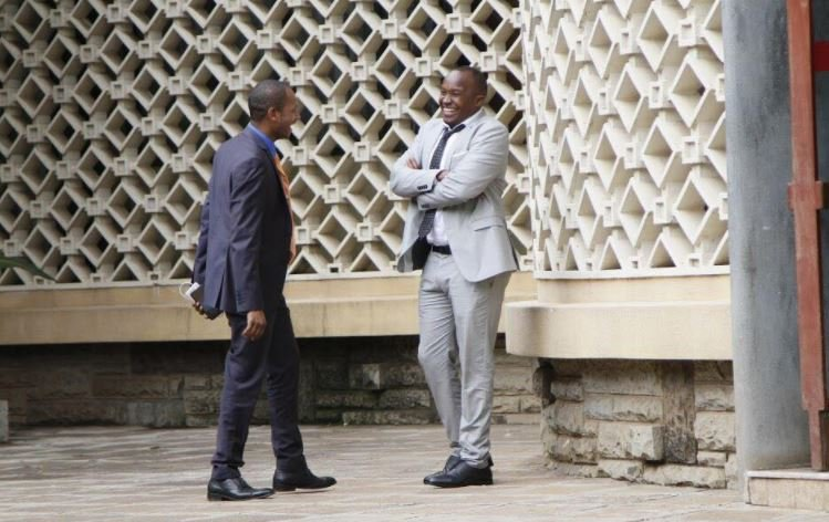 Babu Owino and Jaguar