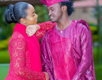 """""""I want to EAT!"""" A thirsty Bahati publicly flirts with his wife"""