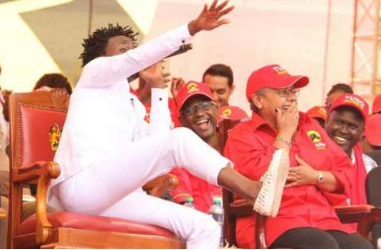 Bahati reveals that he's been ordered not to go anywhere near Uhuru and Ruto