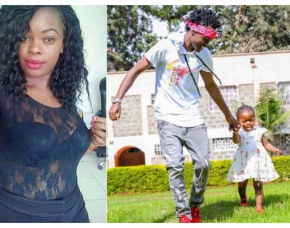 Bahati spends time with firstborn daughter after baby mama complains about absentee parents