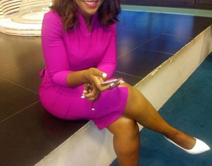 Okari bonoko! Betty Kyalo confuses fans after sharing photo with colleague who looks like Dennis Okari