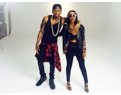 """Unapambana sana Vee"" Diamond heaps praise on Vanessa Mdee"