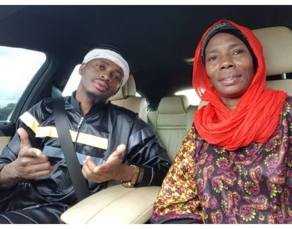 Mama's boy! Diamond's mother flaunts new bungalow her son has built her in her rural home in Kigoma (Photos)