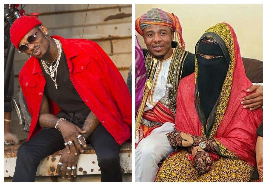 End of beef? Diamond sends warm message to Alikiba on his wedding