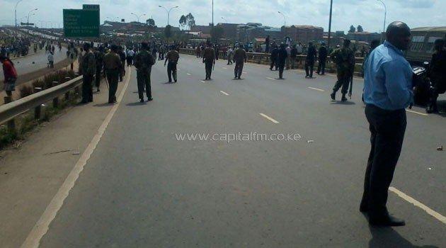 Police battle Githurai protestors demanding Katitu's release