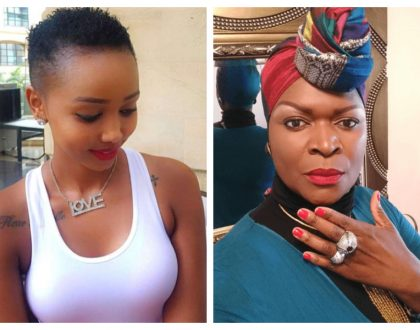 """Kenyans are enemies of progress"" Huddah Monroe comments on Suzanna Owiyo's accident on Langata Road"