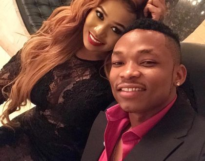 Otile Brown and Vera Sidika now best of friends? (Photo)
