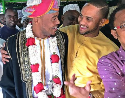 Alikiba finally kisses bachelorhood goodbye, this is how he stepped out dressed for his wedding!