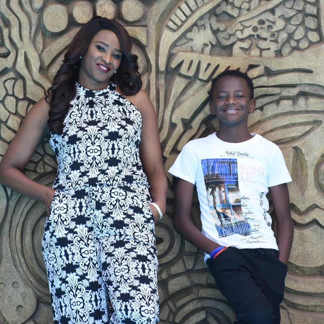Kanze Dena sends her son a special message as he celebrates his 12th birthday!