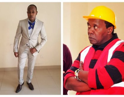 Come pick your son! Man claiming to be Jeff Koinange's long lost son demands audience with him