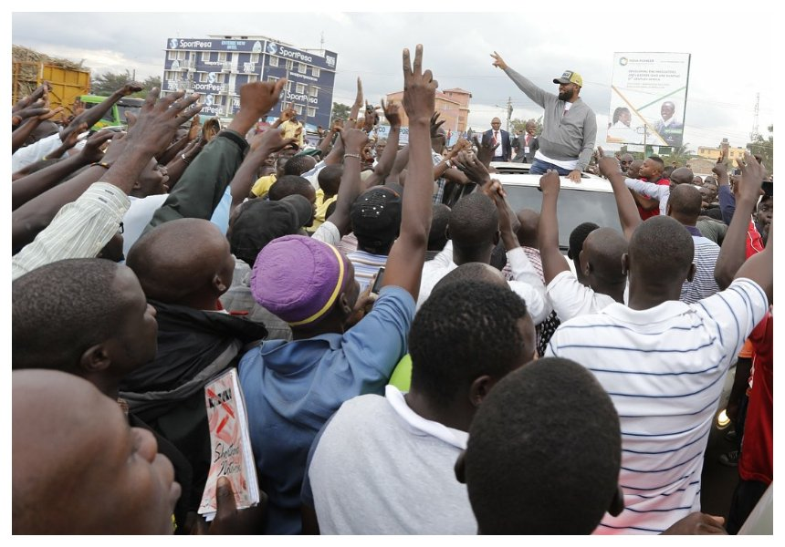 Sultan returns with a bang!Kenyans now believe Joho is Raila's chosen heir after the incident in Kisumu