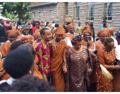 President Uhuru's son Jomo all set to marry Achola Ngobi in a white wedding