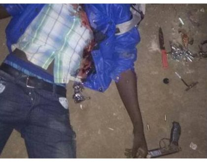 Korogocho gangster becomes the 10th criminal police have shot dead in a week (Photos)