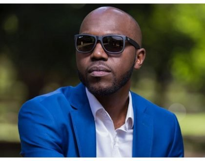 Larry Madowo in trouble on his first day at work at BBC