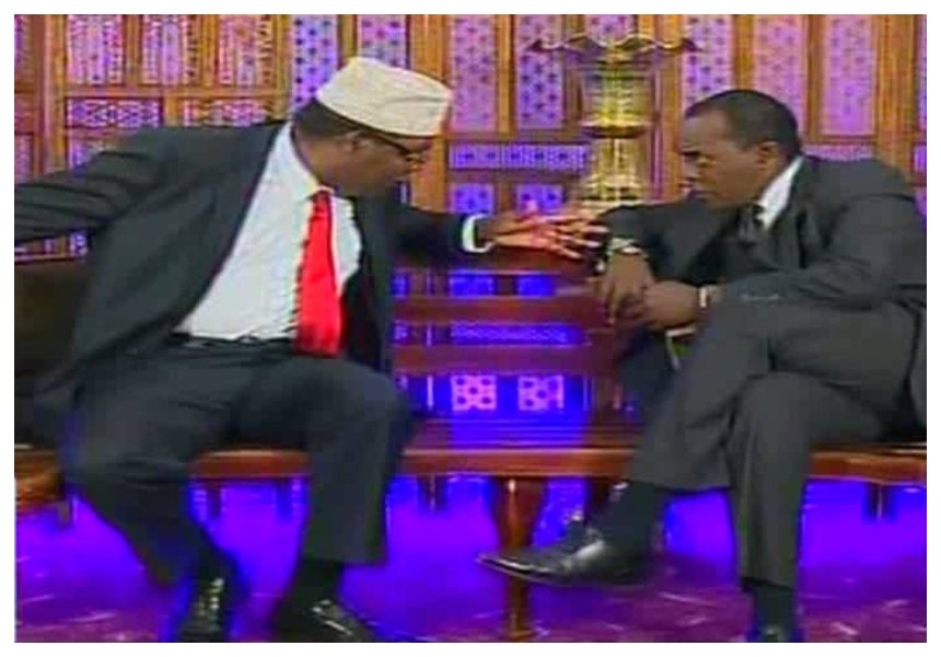 """You poke fun at human rights abuses because tyrants have you on their payroll"" Miguna fires at Jeff Koinange over Miguna Challenge"