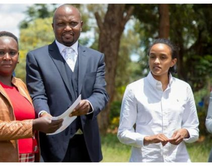 Ready to join politics? Ngina Kenyatta accompanies Moses Kuria to a rally in Gatundu (Photos)