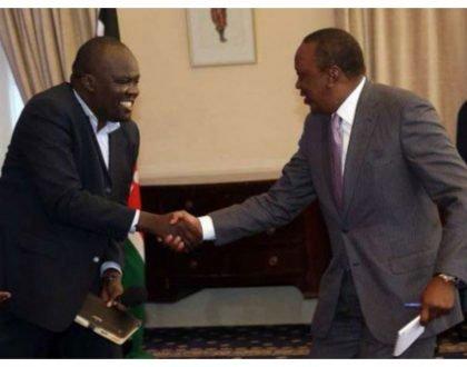 Furious Robert Alai returnsstate commendation awarded to him by president Uhuru