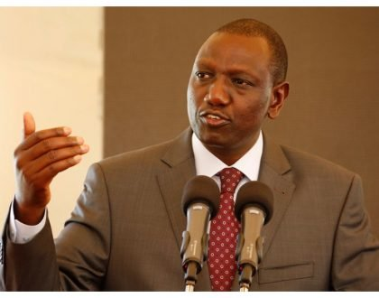 Ruto tells governors to keep their deputies busy to avoid incidences of them getting caught pants down in lodgings