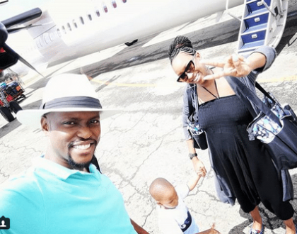 This is how Janet Mbugua and her family are enjoying their vacation (photos)