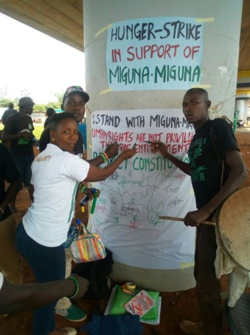 More Kisumu residents join hunger strike to protest Miguna ...
