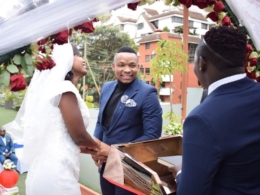 Sanaipei speaks on marrying controversial singer Otile Brown: It's not fake, When you're getting married, you don't tell the whole world