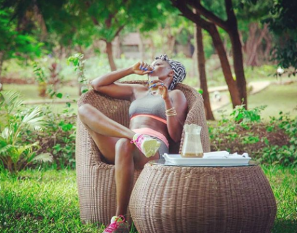 Akothee promises to educate her late gardener's son because of the love his father showed her