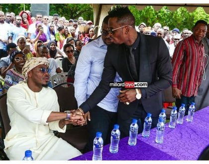 Alikiba explains the controversial handshake with Diamond Platnumz at Agnes Masogange's burial