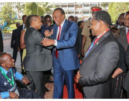 Babu Owino reacts after president Uhuru publicly announced he had forgiven him