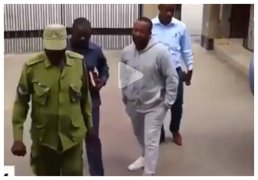 Case postponed! Diamond's manager Babu Tale spends second night behind bars (Photos)