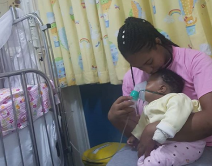 Bahati's daughter hospitalized