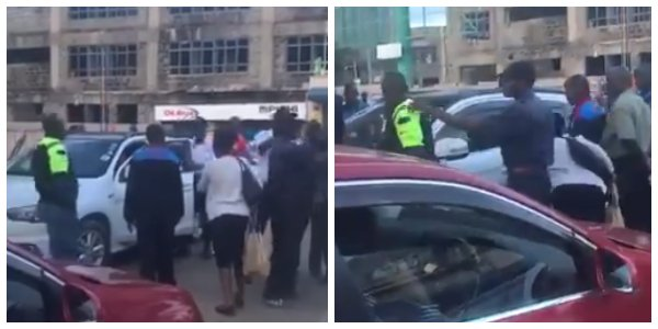 Drama in Westlands after Indian lady allegedly calls Kenyans 'Black Monkeys'(video)