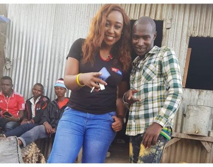 """Utahara ushangae"" Internet reacts after Betty Kyallo reveals Bonoko took her out to eatchapo beans, KDF and tea in Ngara"