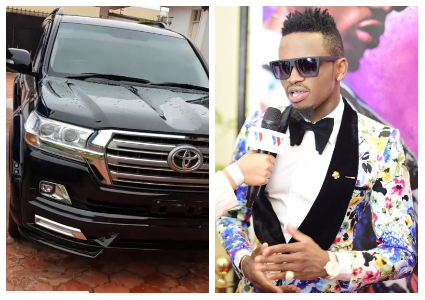 Diamond Platnumz gifted brand new Kes 8 million Land Cruiser by his management