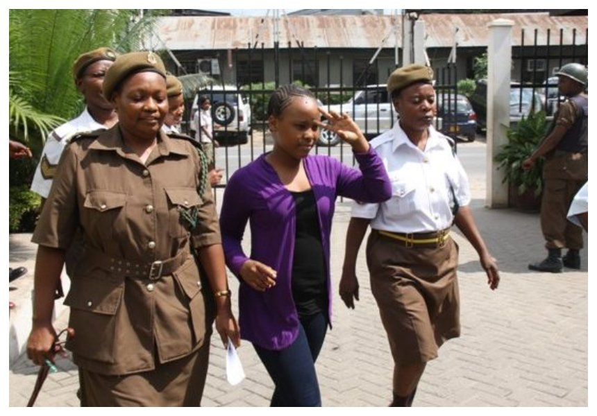 Freedom at last! Elizabeth Michael Lulu released from prison