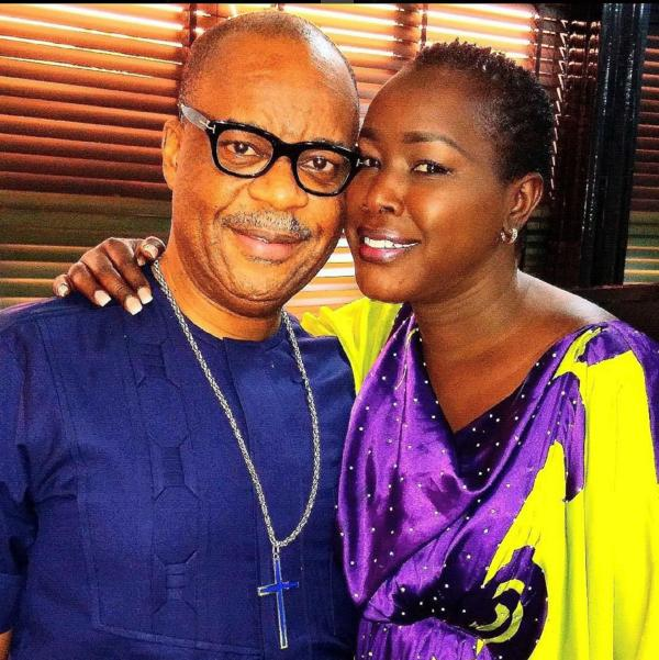 Emmy Kosgei leaves social media on fire after mushy-mushy post with Nigerian hubby(Photo)
