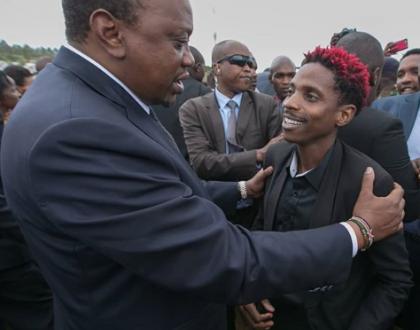 President Uhuru to Eric Omondi: You need to eat more young man