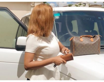 TV girl Doreen Gatwiri sparks envy by sharing photos of her expensive toy (Photos)