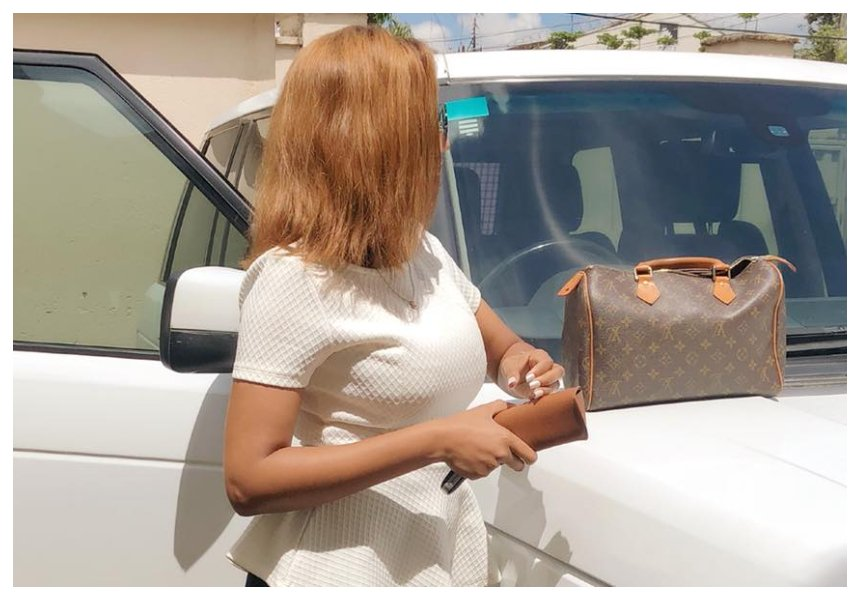 TV girl Doreen Gatwirisparks envy by sharing photos of her expensive toy (Photos)