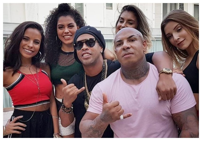 Polygamy redefined! Football legend Ronaldinho announces plan to marry his girlfriends at the same time