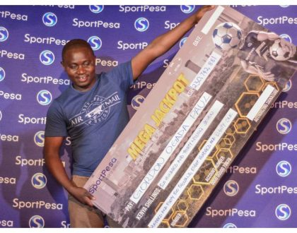 Ujaluo gharama kweli! Kes 230 million SportPesa mega jackpot winner admits he has already squandered all the money he won