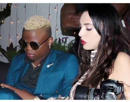We're pregnant! Harmonize and wife expecting their first child together! (Photo)