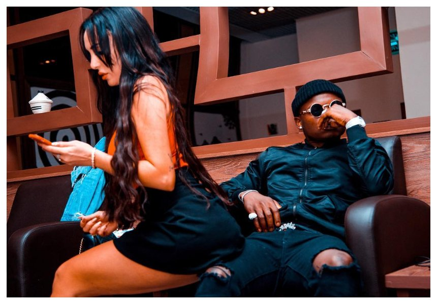 Harmonize's Italian girlfriend opens up about losing her unborn baby in her 4thmonth of pregnancy