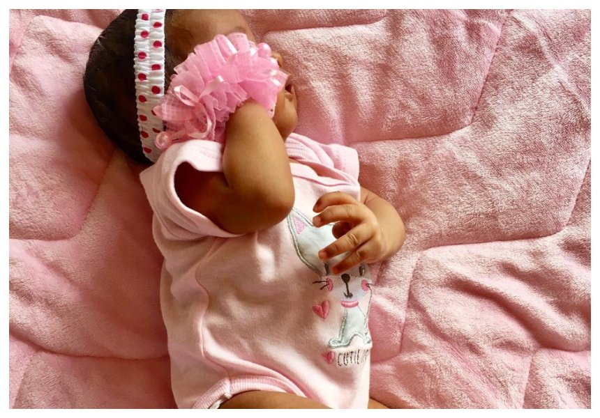 Sad! Bahati's 12-week-old daughter admitted to hospital (Photo)