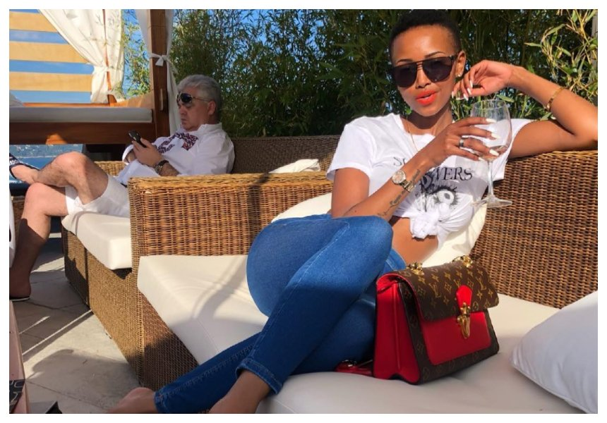 """Nitumieni wazee wote"" Huddah Monroe responds after being criticized for having a fetish for old wazungu men"