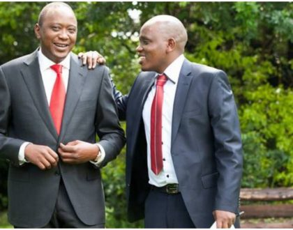 Head of the Presidential Delivery kicked Dennis Itumbi out of State House?